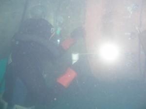 Soldadura eléctrica submarina